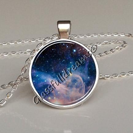 Galaxy nebula pendant glassfulldreams shop handmade jewelry blue galaxy orion nebula necklace outer space jewelry necklace glassfulldreams jewelry glassfulldreams handmade jewelry mozeypictures Image collections