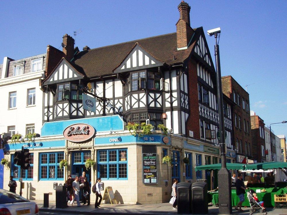 Belushi's in Camden Town