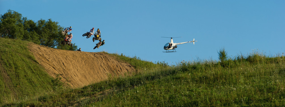 Heli shoot for Butter: All Moto Flavored! 2013
