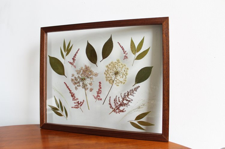 Custom Wedding Flower Frame — Framed Florals
