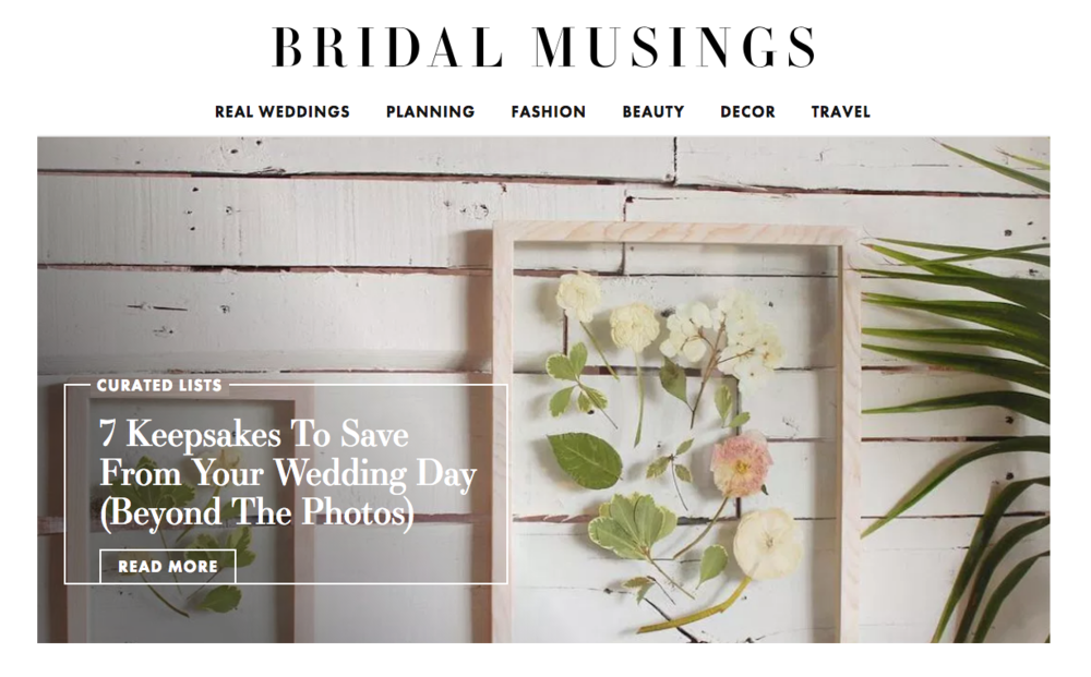Framed Florals Bridal Musings Floral Preservation