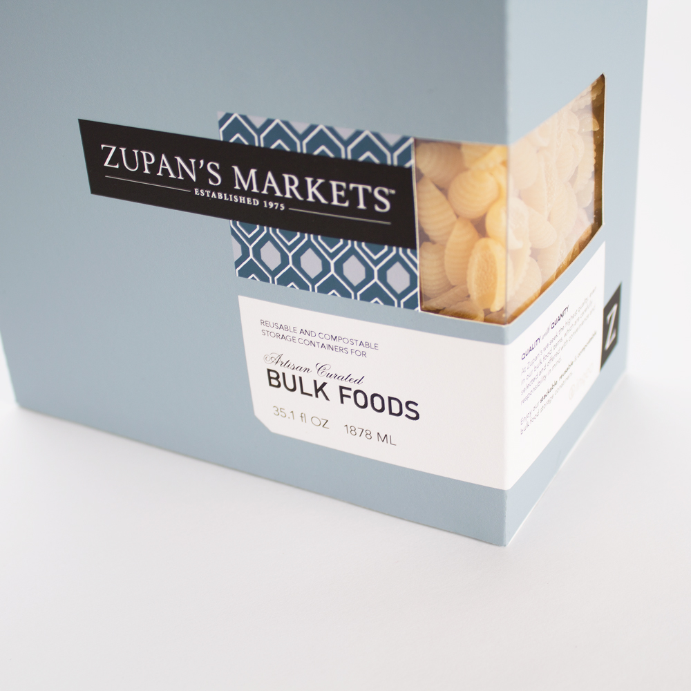 ZUPAN'S MARKETS  Package Design, See this project   HERE