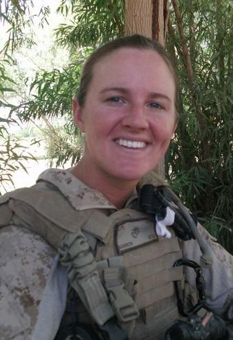 Kate Campbell, US Marine Veteran