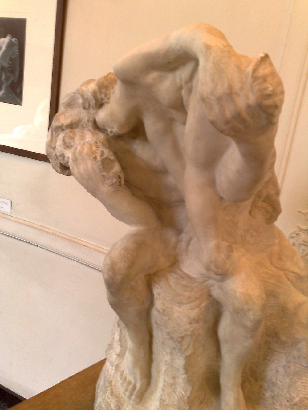 Rodin's  The Muse . Paris is the perfect place for contemplation.""
