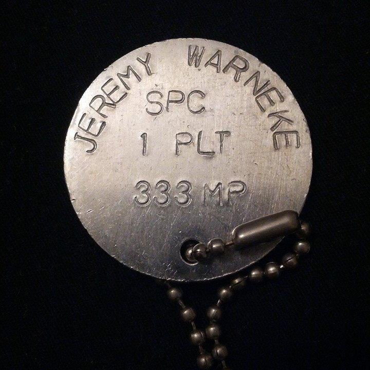 Jeremy Hussein Warneke, Craft of War Writing Instructor