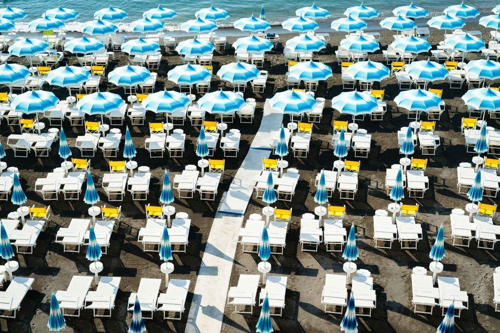 Amalfi Beach Club Umbrellas I