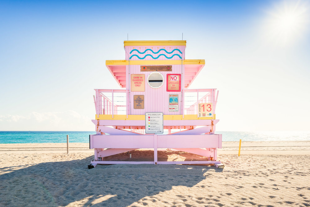 Haulover Beach Lifeguard Stand 13 (Series 2 of 4)