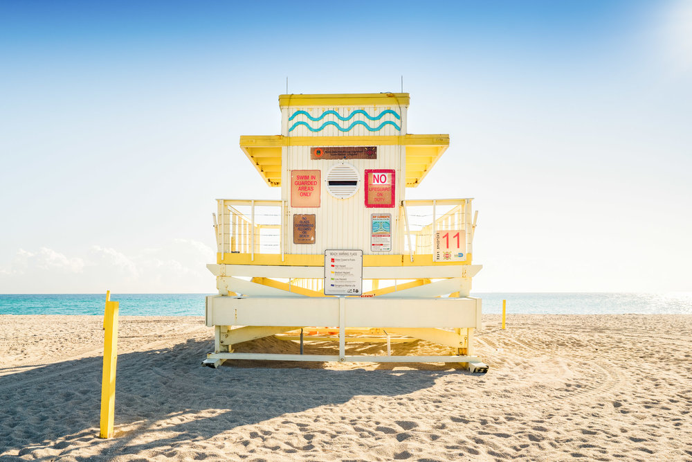 Haulover Beach Lifeguard Stand 11 (Series 4 of 4)
