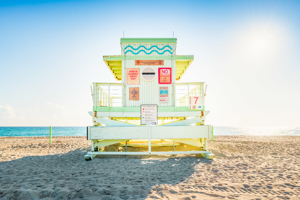 Haulover Beach Lifeguard Stand 7 (Series 3 of 4)