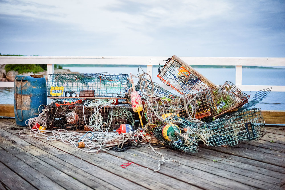 Mangled Lobster Traps
