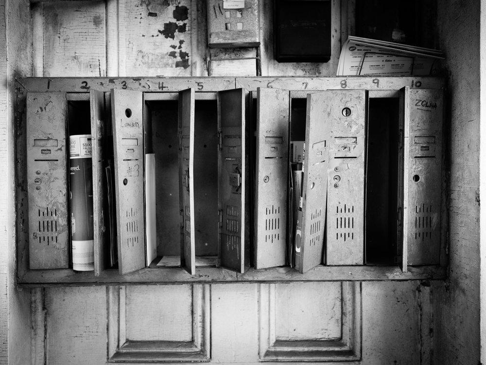 French Quarter Mailbox