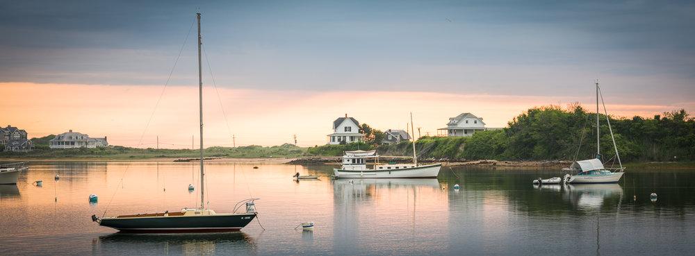 New Harbor Sunrise