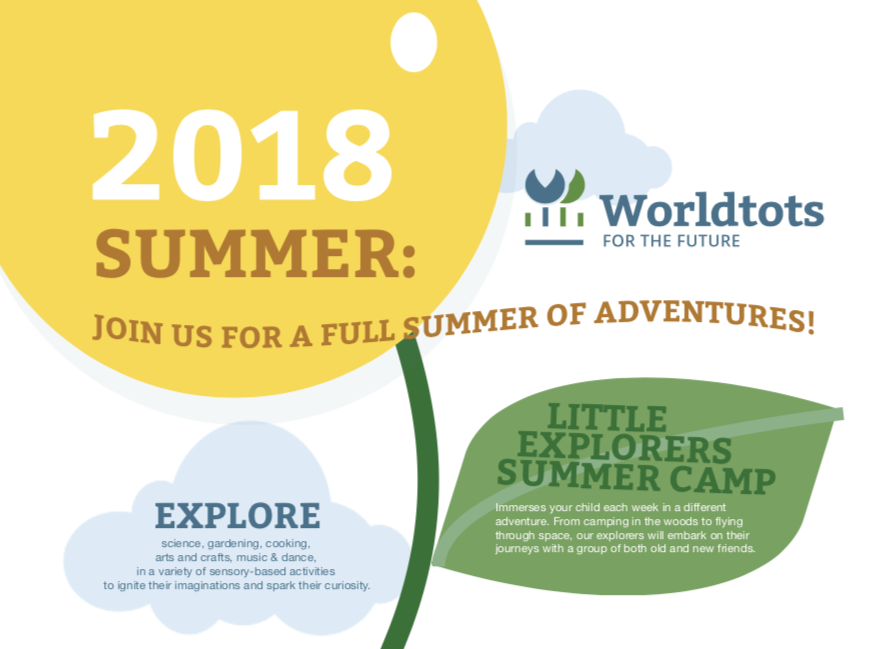 Worldtots Summer Camp 2018