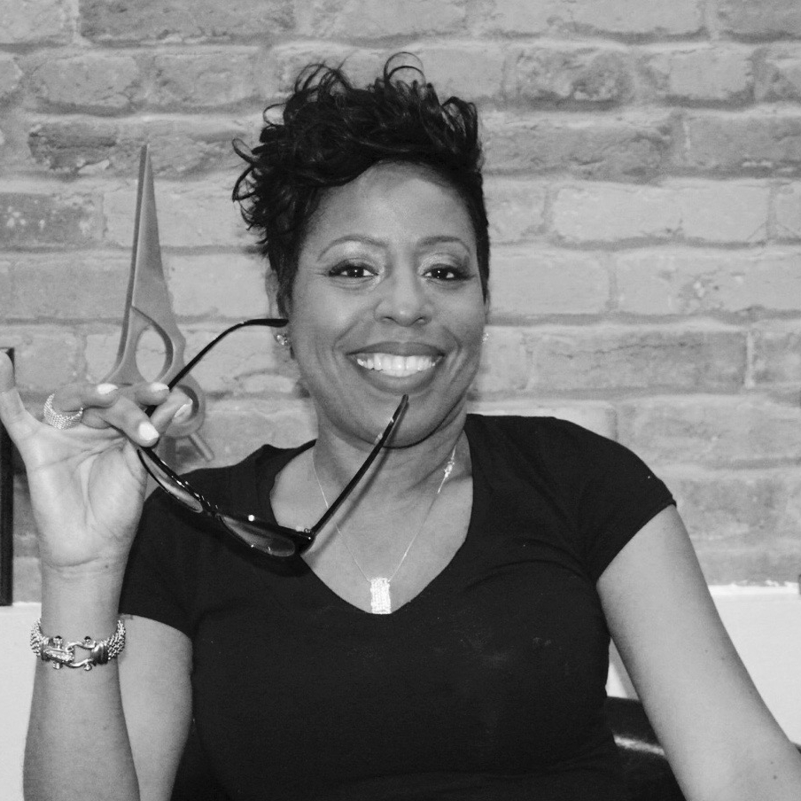 Cleashay China Sutton,Creative Director - Industry professional Cleashay has had a passion for the hair and beauty industry from childhood through her entire adult life.  She has been licensed for more than 19 years in two different states including as a licensed cosmetology instructor.  She is certified by many prestigious industry professionals, including Paul Mitchell, Toni & Guy, Clairol, Biologe, Sebastian, Wella, Avlon, Design Essentials, Rusk, Joico, and Mazani.  She specializes in healthy hair care, precision hair cutting, and the latest styling trends, and is certified in the silkening blowout smoothing treatment, an amazing treatment that smoothes and defrizzes hair, leaving it silky and shiny.  She also has advanced experience in customizing wigs and specializes in hair coloring, hair illusions and make-up.