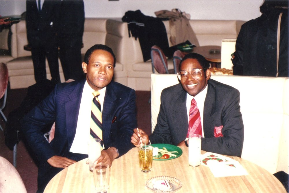 1987 - [Left to Right] Charles Smith, Billy Barnett