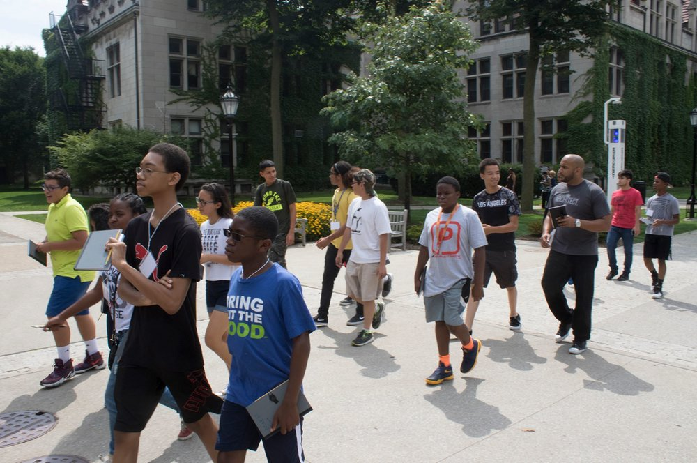 2016 - Project Pipeline Summer Camp - University of Chicago