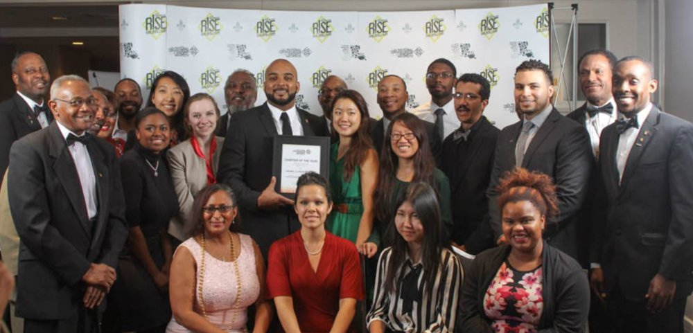 2015 NOMA Conference New Orleans - I-NOMA receives 2015 Chapter of the Year Award
