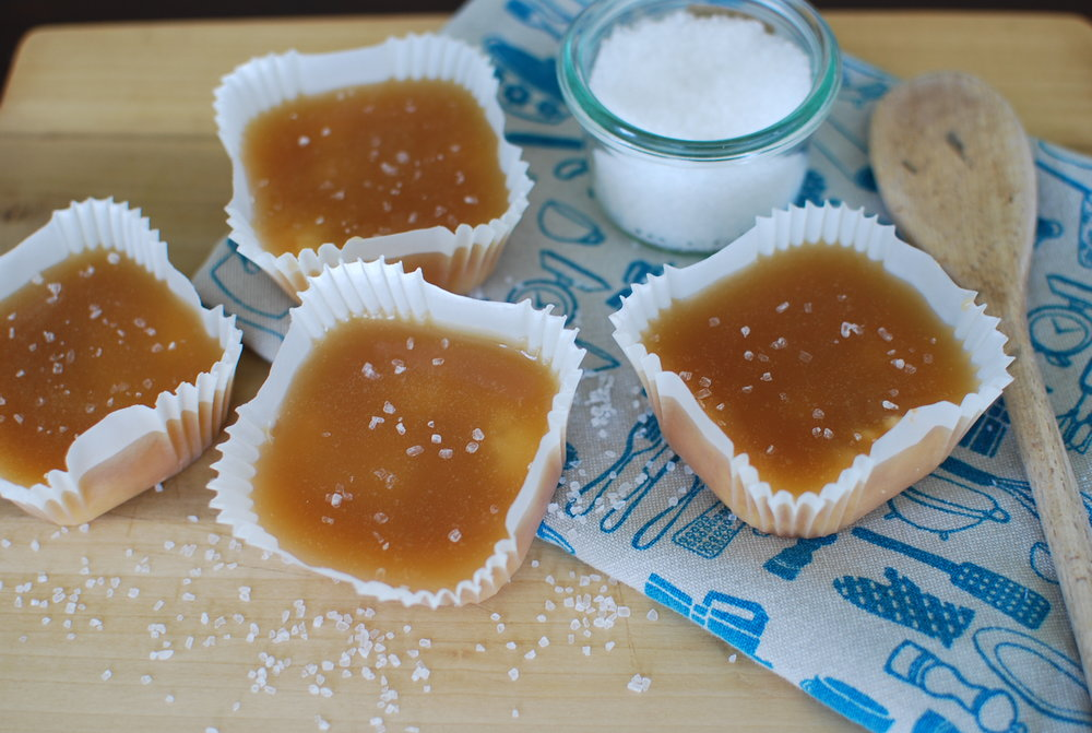 Salted Caramel Shortbread Cups