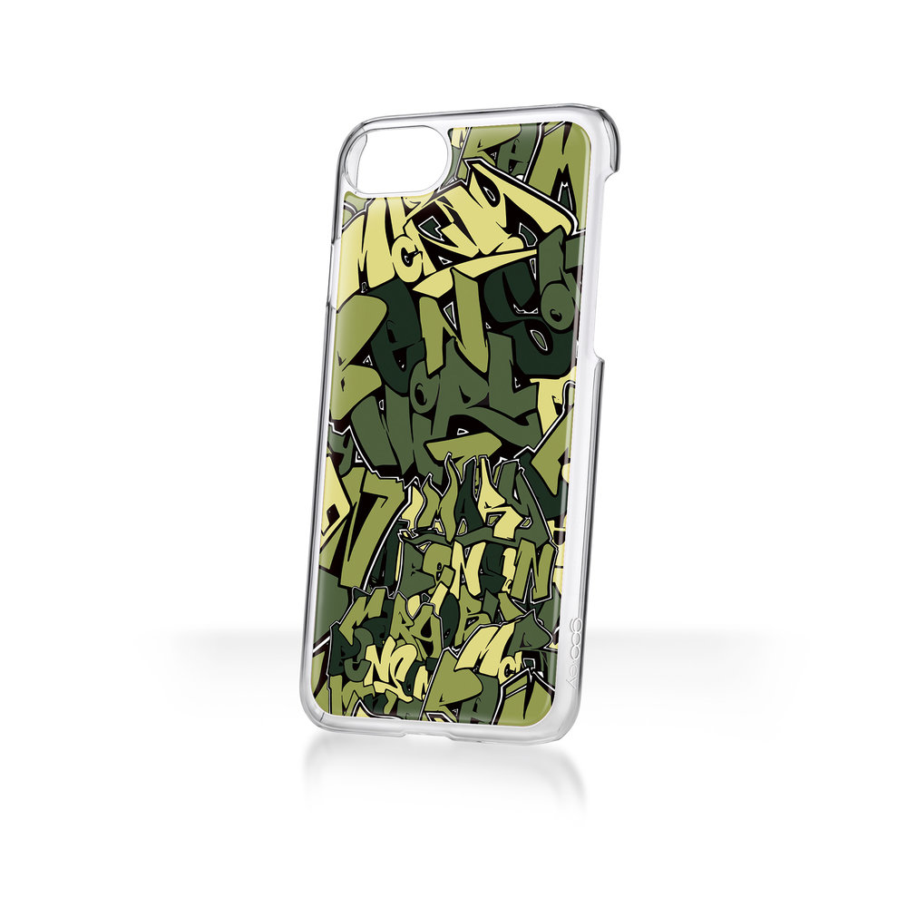 Mary Benson x goo.ey - Apple iPhone Plus 8/7/6 CaseGraffiti - Green