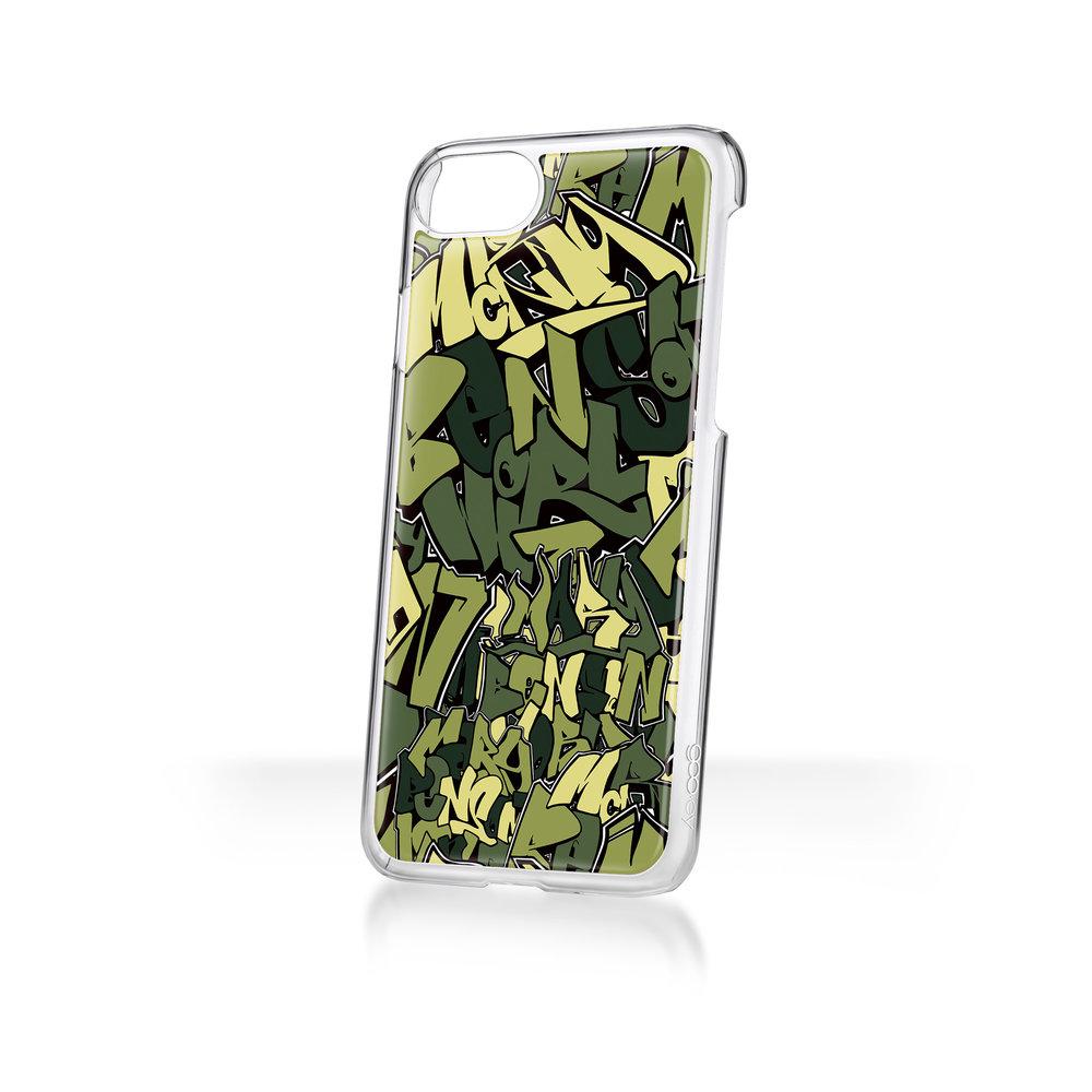 Mary Benson x goo.ey - Apple iPhone Plus 8/7/6 CaseGraffiti - Green