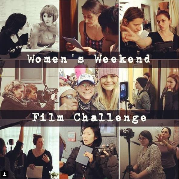 Women's Weekend Film Challenge