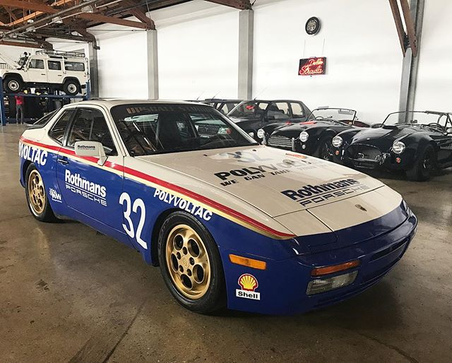 Rothmans Porsche 951, layered artwork #racecar#porsche#944turbo#951#gold#losangeles#california#layerednotprinted#dellastrada#shell#rothmans#momo#kwsuspension#vinylwrap#vinyl#avery#june#summer