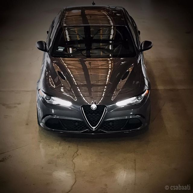 Sinister Alfa Romeo Giulia protected by 3M Scotchgard Pro Series paint protection 🍀Owner: @matthew_e_schneider  #clearbra#3MScotchgardProSeries#3M#losangeles#california#wrap#knifelesstape#paintprotection#vinylwrap#selfhealing#scratchproof#glendale#dellastrada#alfaromeo#alfaromeogiulia#boylondon#giulia#carbonfiber#trackready#supercar#sedan#newcar#travisscott#butterfly
