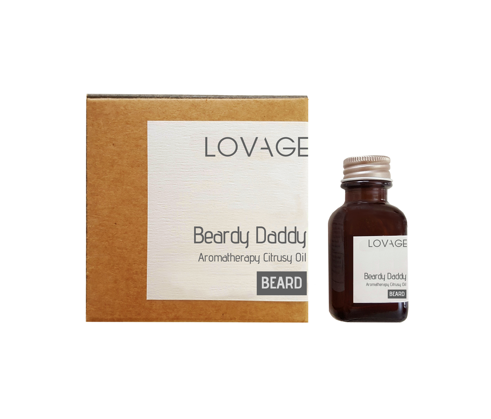 Beardy Daddy Aromatherapy Citrusy Beard Oil Lemon and Bergamot