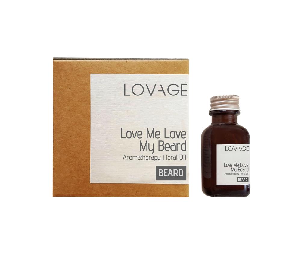 Love Me Love My Beard Floral Oil Palmarosa and Ylang ylang