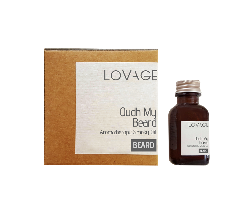 Oudh My Beard Aromatherapy Smoky Oil Patchouli and Frankincense