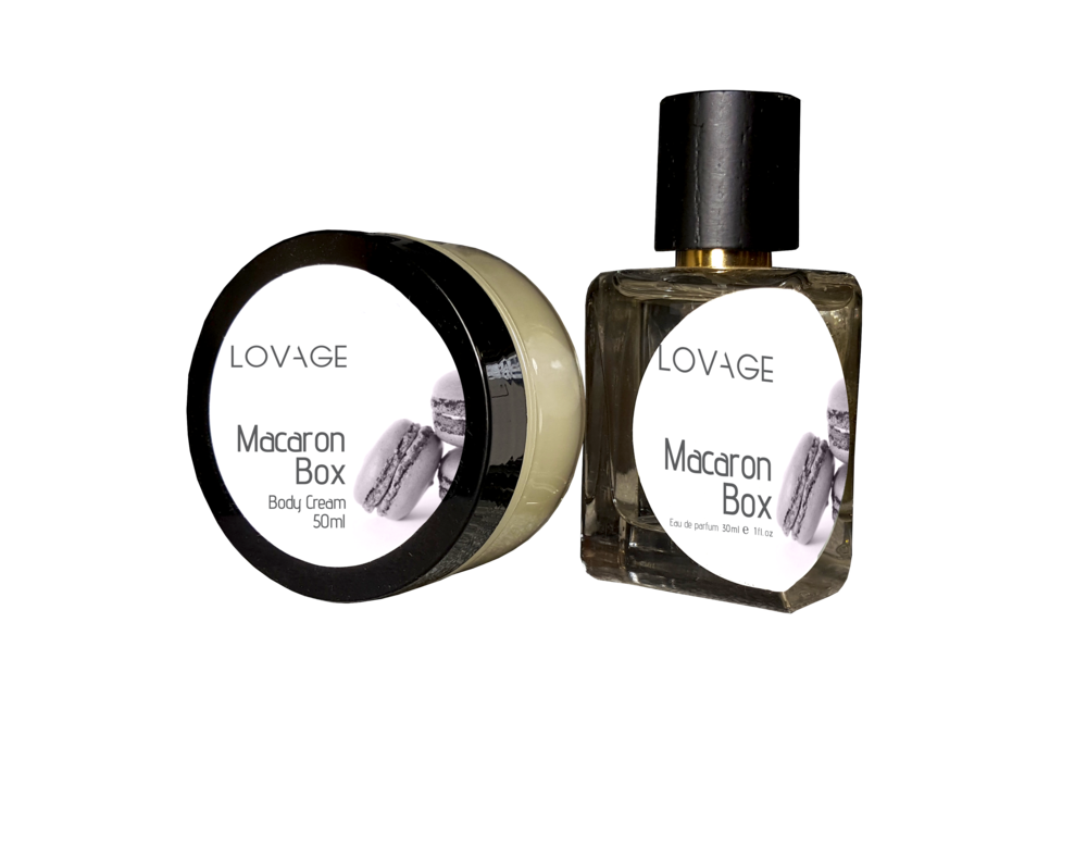 Macaron Box   Bergamot Lavender Vanilla