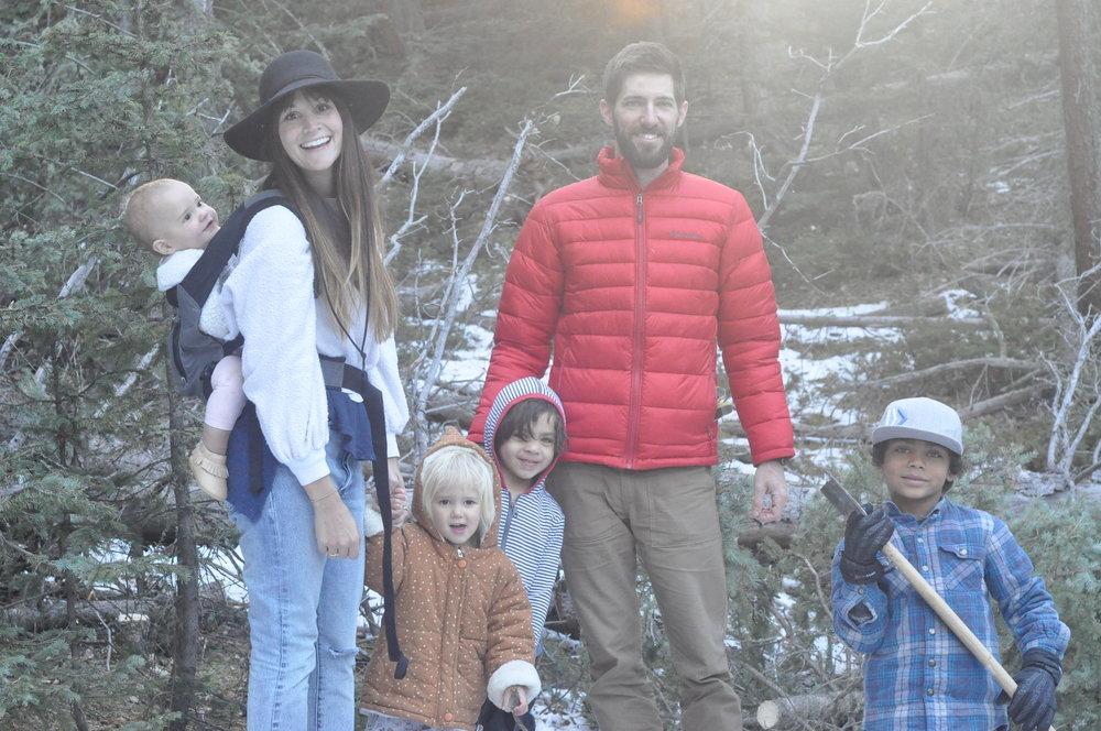 Parker & Jess - Ryan (6), Cory (4), Neriah, (3) Sylah (1 yo).