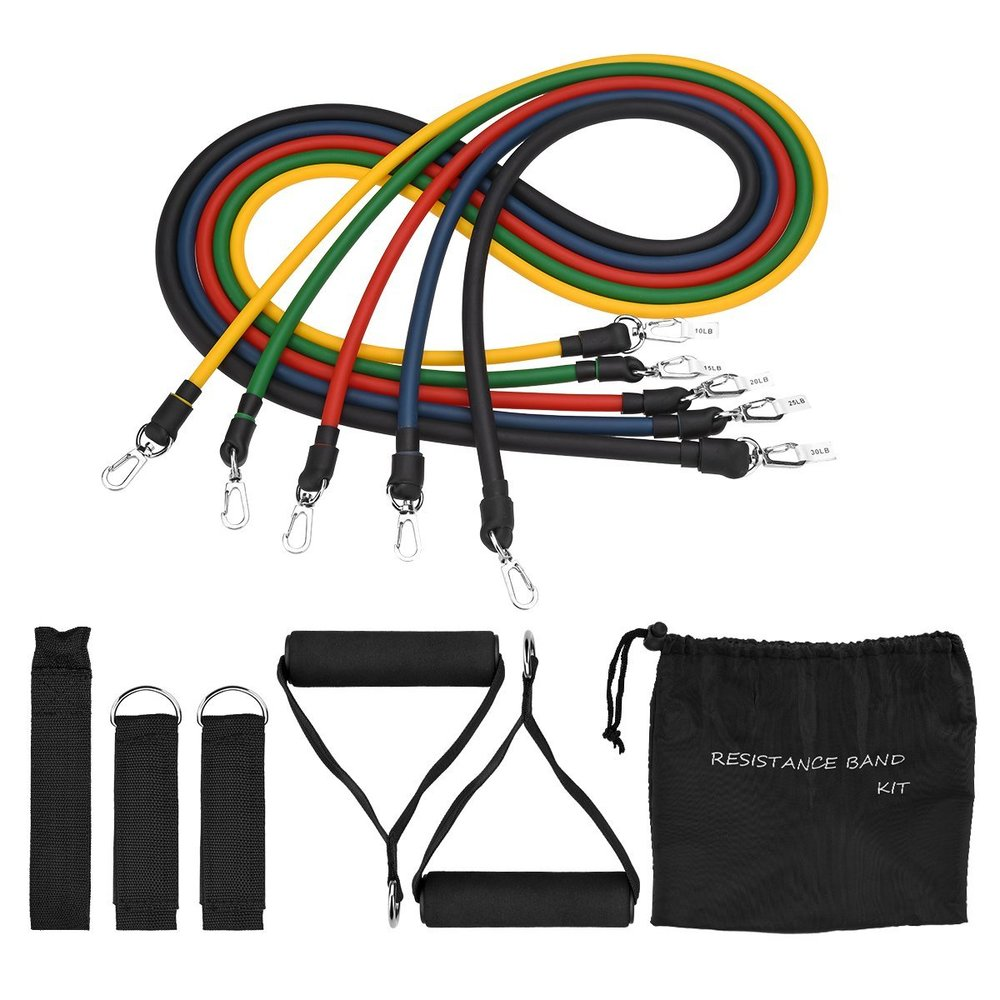 RESISTANCE BANDS - AVAILABLE ON AMAZON