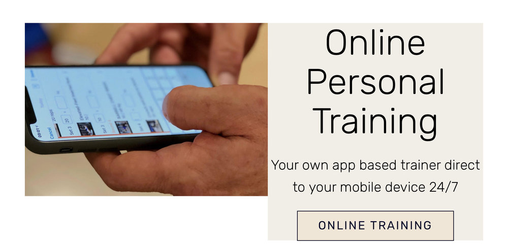 Online Personal Training - £19.00 PER MONTH