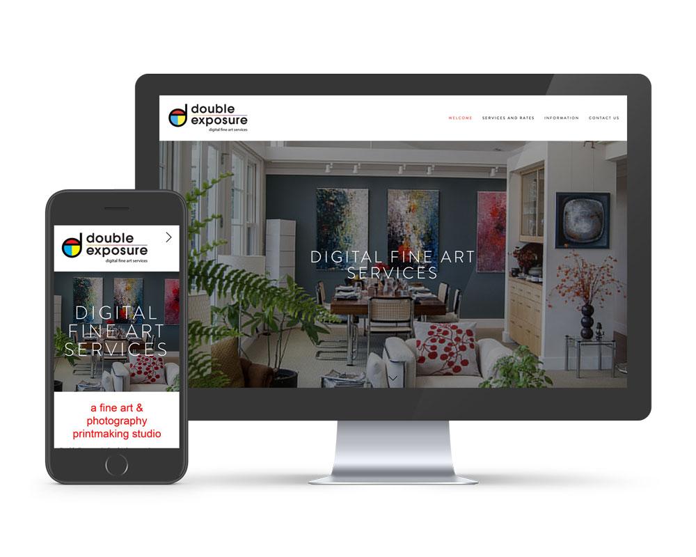 Squarespace website design asheville NC