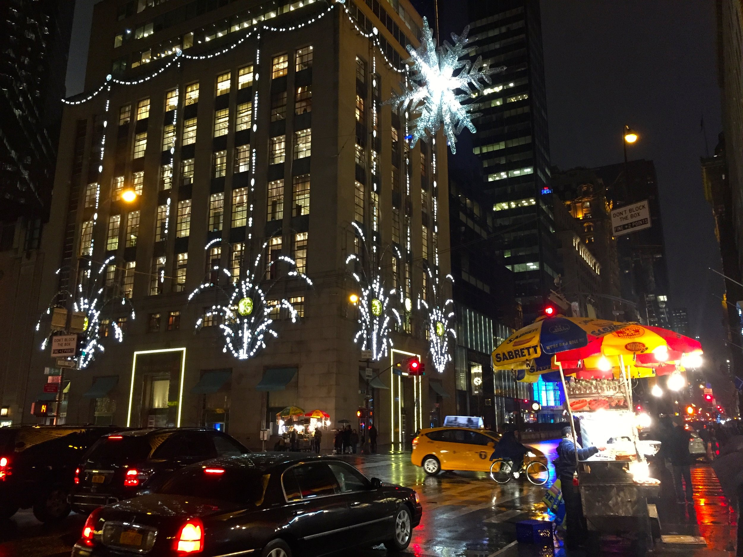 5th Ave Snow Flake