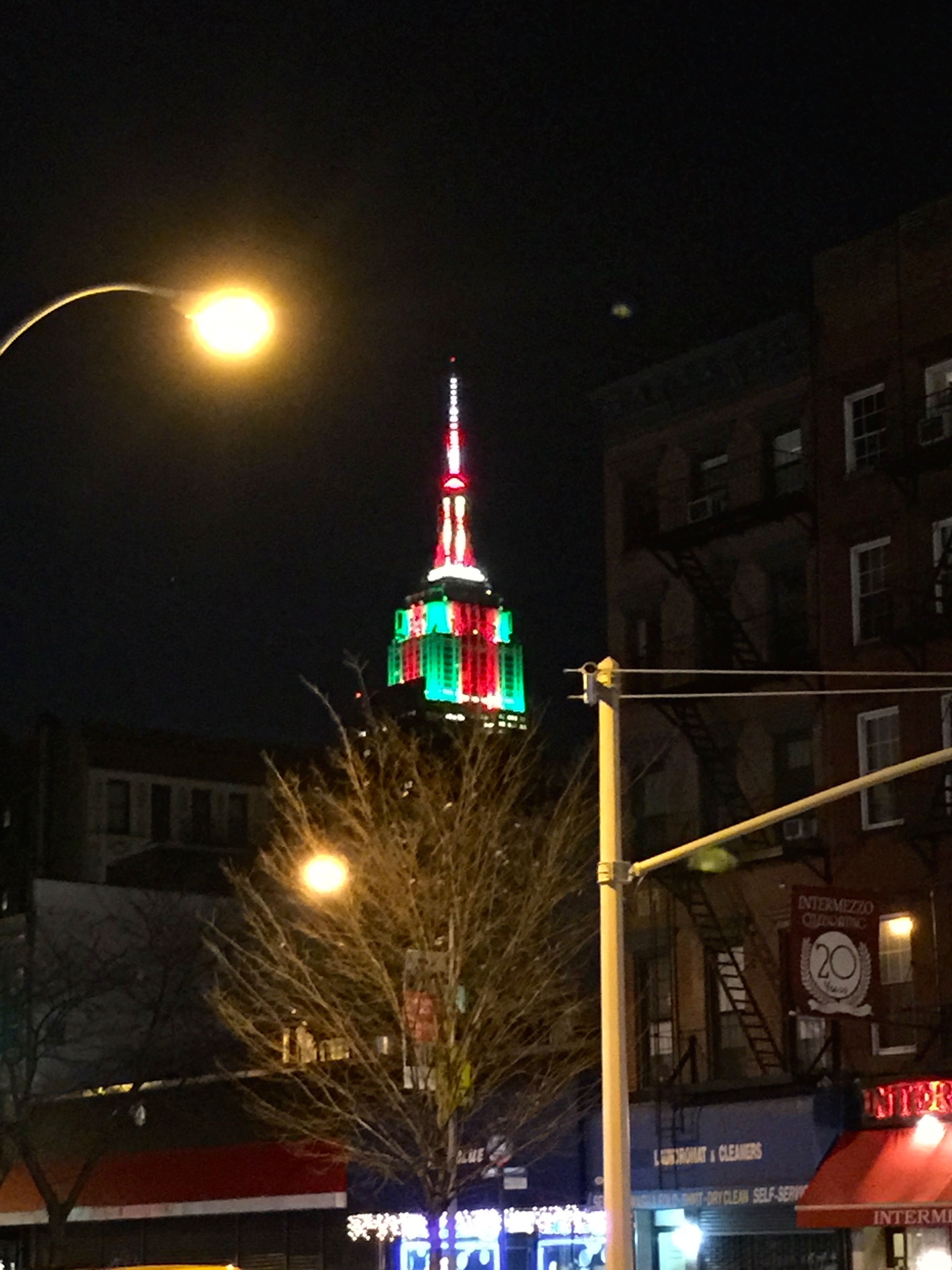Festive Empire State Building