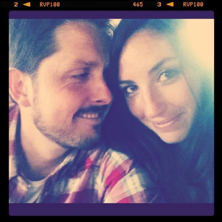 Rob and I.