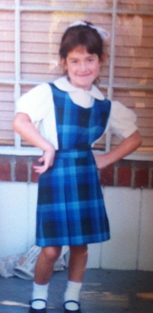 First day of 1st grade, being sassy.