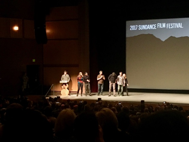 Cast, director, and producer of The Big Sick doing a Q&A after the show!