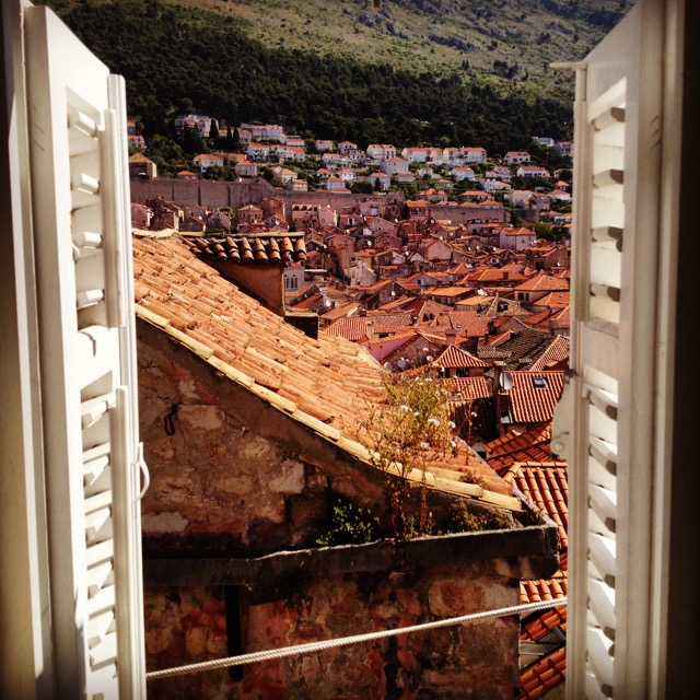 Can't wait to wake up to this view again! (Dubrovnik, Croatia)
