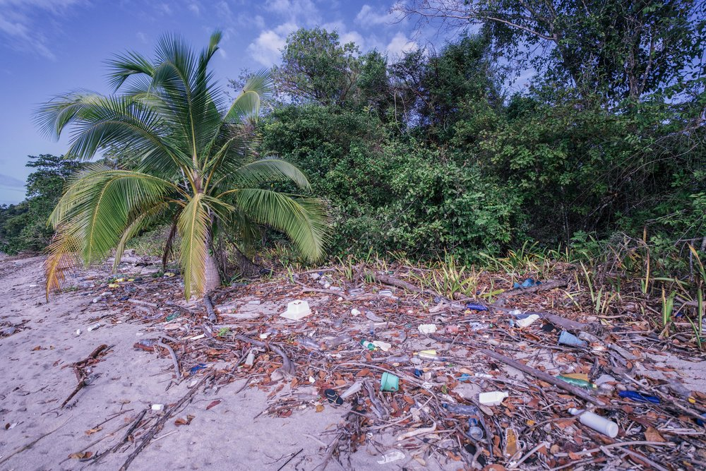The unpleasant reality of plastic pollution. Hopefully Panama will consider finding a solution for it as part of the sustainable tourism development plan.