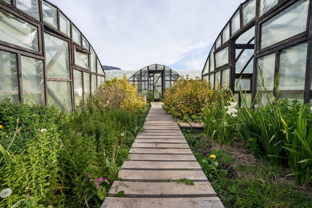 Vegetable garden Patagonia Park