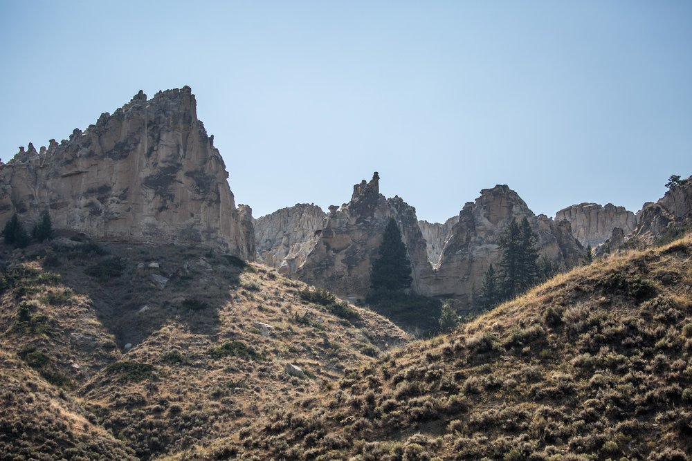 - Rugged rock formations continue for a several-mile long stretch of the Upper Missouri River, and the section between Coal Banks Landing and Judith Landing are especially impressive.