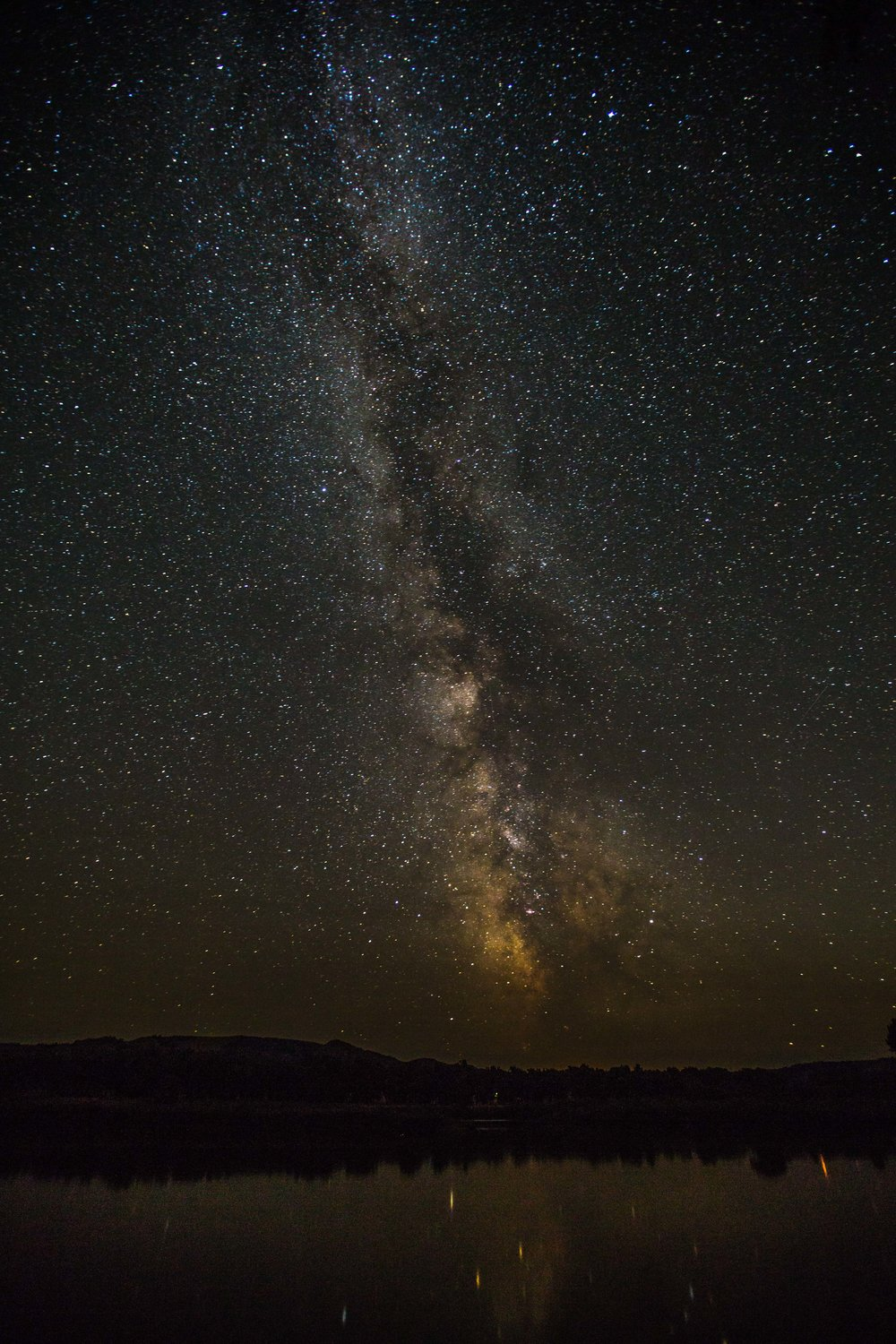 - Milky Way over the Missouri River. Montana is Big Sky country, and I don't think we've ever seen so many stars.