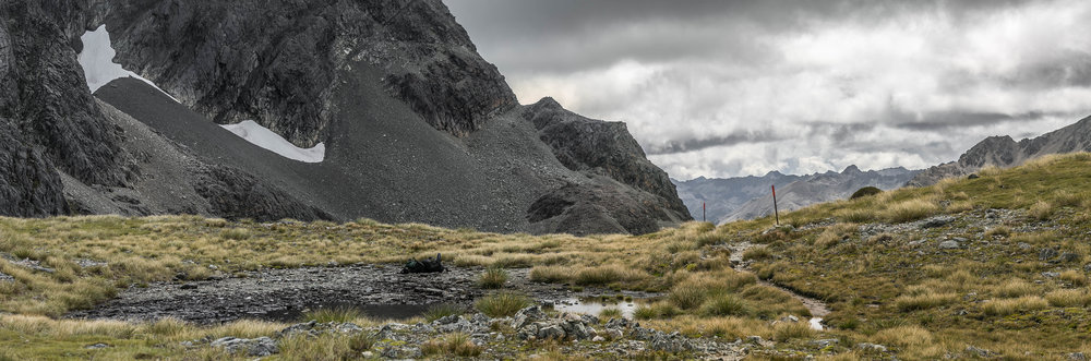 Nelson Lakes National Park - Nelson Lakes National Park offers impressive views of mountains, distant and close, as one crosses the national park along the Te Araroa.