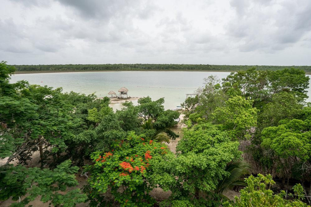 Síihil Noh Há Lagoon and ecotourism center in the Maya Ka'an destination, Quintana Roo, Mexico