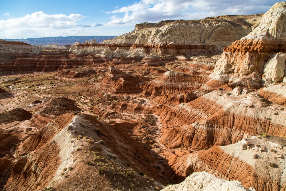 - Some of the impressive canyons at the southern end of the Grand Staircase-Escalante National Monument