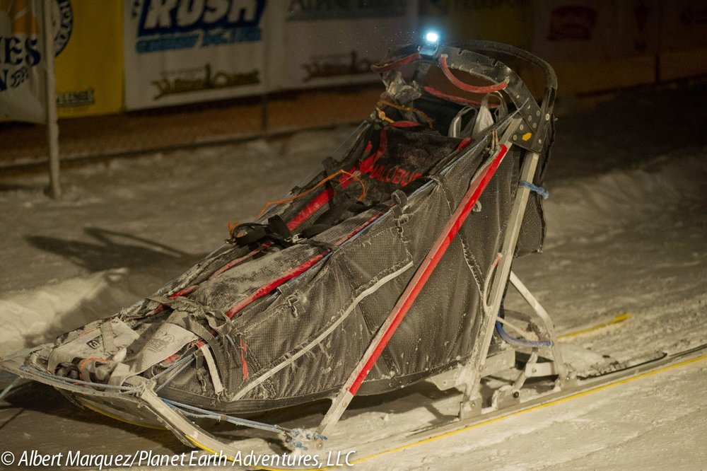 Distance racing sled. ( Albert Marquez )