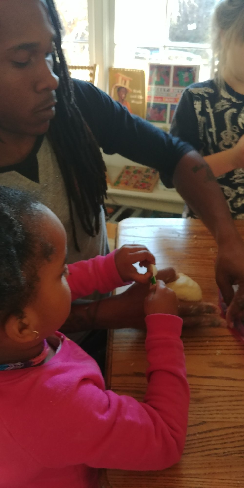 Our model supports the creation of deeper connections with parents and children. Parent educators rock!